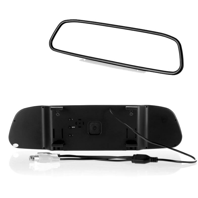 """4 3"""" Screen TFT Car LCD Rear View Rearview DVD Mirror Monitor for Camera VCR"""