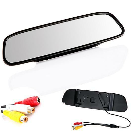 """4 3"""" Screen TFT Car LCD Rear View Rearview Mirror Monitor for DVD Camera VCR"""