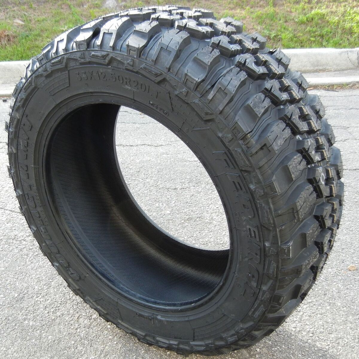 "4 33"" Federal Couragia MT Mud Terrain Tires 33x12 50x20 Chevy Ford Dodge Toyota"
