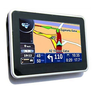 4.3inch touch screen GPS navigator 4GB M...