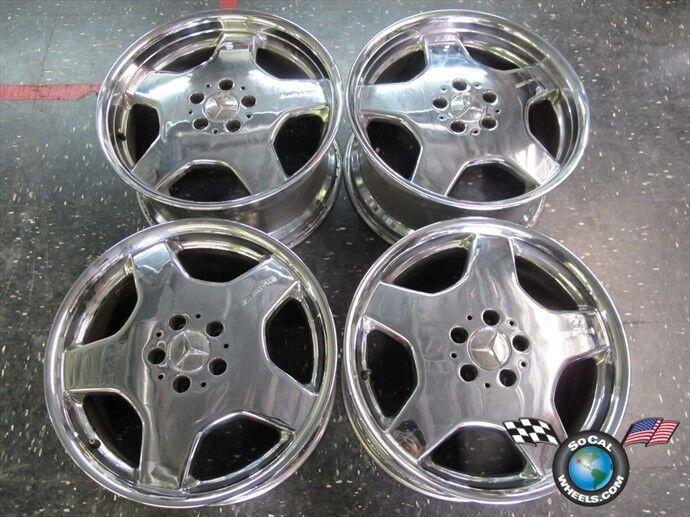 99 06 Mercedes MBZ S420 S55 CL500 CL600 Factory AMG 18 Wheels OEM Rims