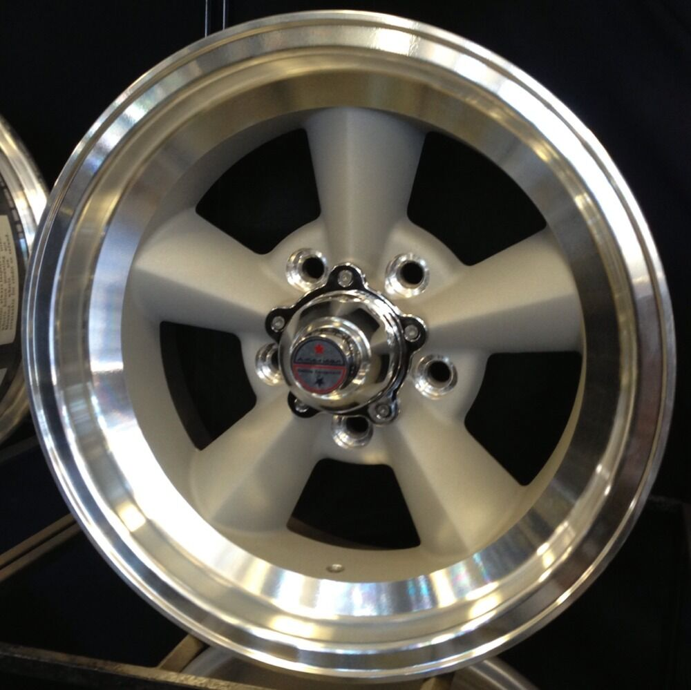 4 American Racing Torque Thrust TTO 309 Wheels Torq 15x7 Chevy Pontiac Torq