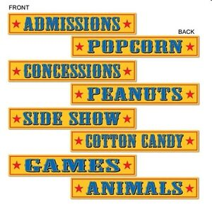 4-Birthday-Carnival-Circus-Festival-Fair-Event-School-Food-Party-Signs