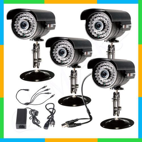 4 CCTV Surveillance Security Waterproof Outdoor Day Night 3.6mm Lens IR Cameras in Consumer Electronics, Home Surveillance, Security Cameras | eBay
