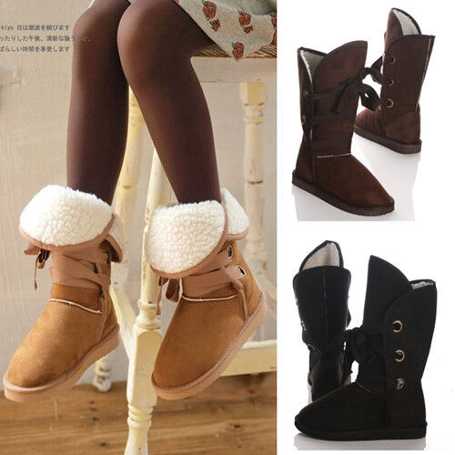 4 Colors Pick Women Winter Warm Lace Up Snow Boots Shoes 5 Size Shoes-001 in Clothing, Shoes & Accessories, Women's Shoes, Boots | eBay