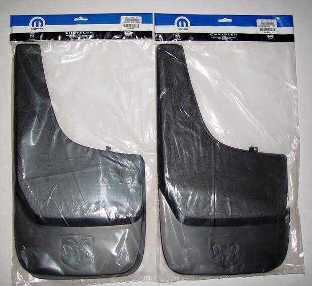 Dodge RAM Factory Mud Flaps 1500 2500 3500 1994 2006 2007 2008