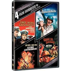 4 Film Favorites: John Wayne War (DVD, 2...