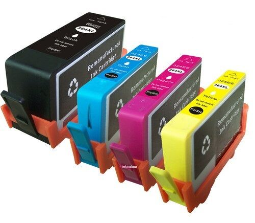 4 hp 364 xl printer ink cartridges. Black Bedroom Furniture Sets. Home Design Ideas