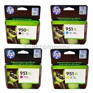 4-HP-950XL-951XL-ORIGINAL-DRUCKER-PATRONEN-TINTE-OFFICEJET-8100-8600-8610-8620