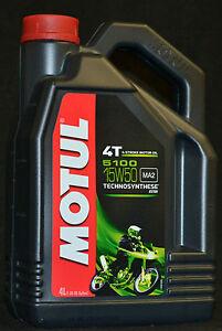 4-Liter-Motul-5100-Motorrad-Ol-4T-15W-50-Motoroel-15W50-MA2-Motorradoel-4-TAKT