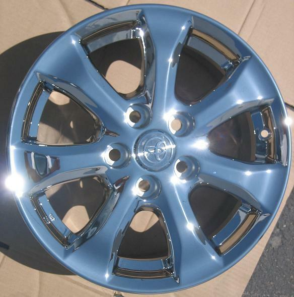 Toyota Camry Chrome Wheels Rims 2011 Exchange Your Stock