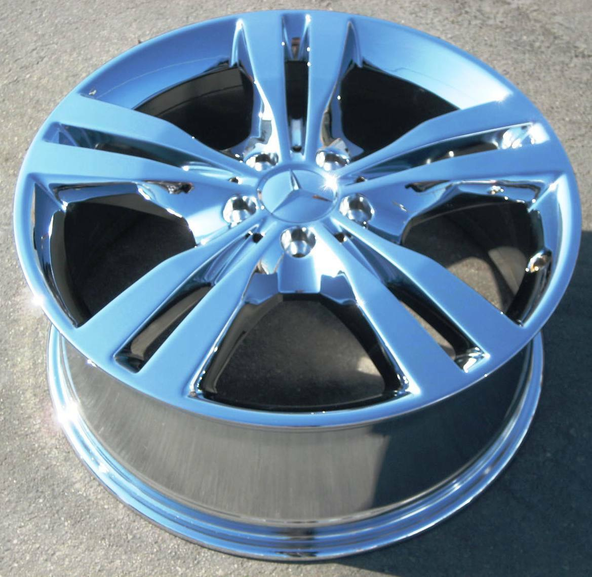 "4 New 19"" Factory Mercedes ML550 ML350 GL450 GL350 R350 G550 Chrome Wheels Rims"