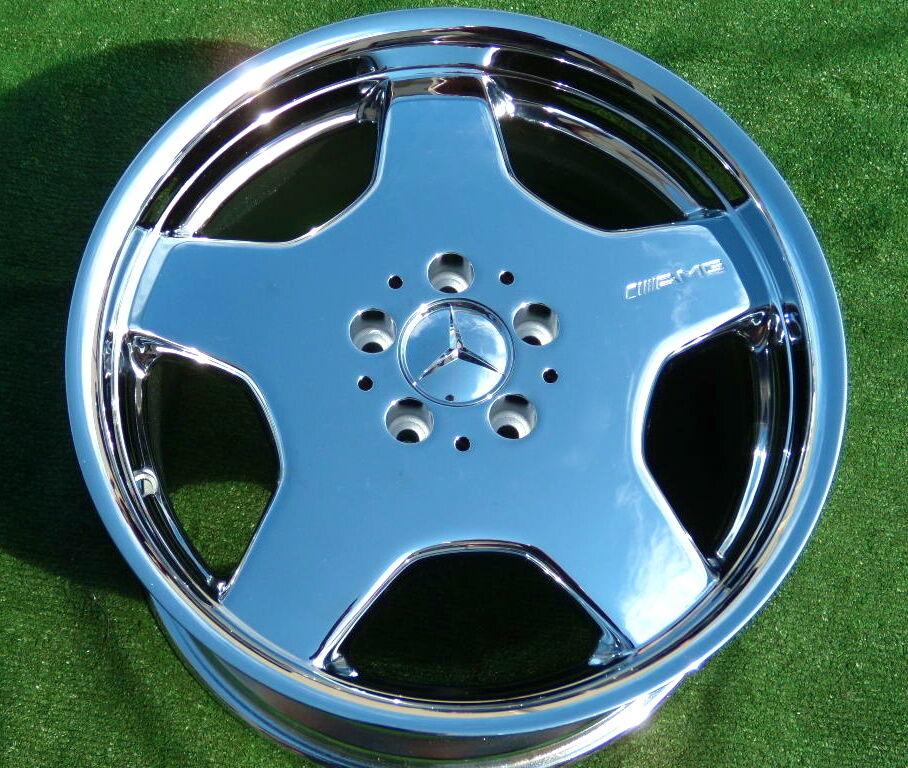 AMG Mercedes Benz Monoblock Wheels S500 S600 S430 S420 CL500
