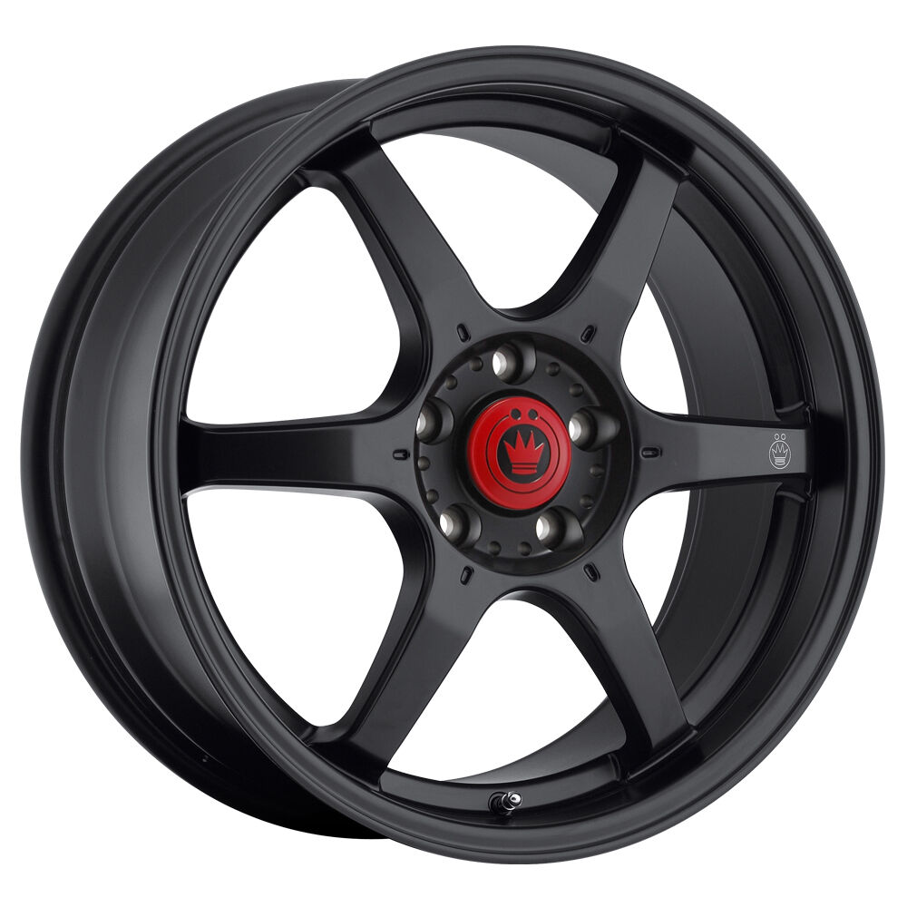 New Konig Backbone 16x7 4x100 ET40 Matte Black Rim Wheels
