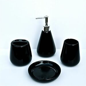 Bathroom Accessories Modern Black Purple Red EBay