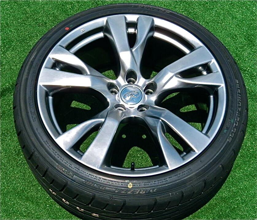 Perfect Genuine Factory Infiniti M56 M37 20 inch Hypersilver Wheels