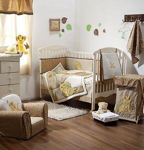 Lion King Cot Bedding Set