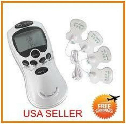 4 Pads! Acupuncture Digital Electric Massager Therapy Machine @ Free Shipping in Everything Else, Other | eBay
