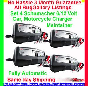 Batteries Volt on Car Battery Charger Trickle Maintainer 1 5 Amp 6 12 Volt Xm1 5