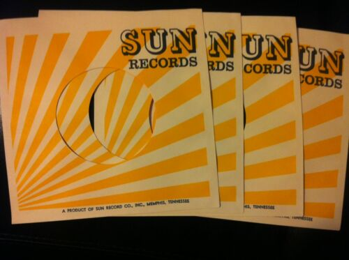 4 SUN STUDIO RECORD SLEEVES-WHERE ELVIS STARTED !! in Collectibles, Autographs, Other | eBay