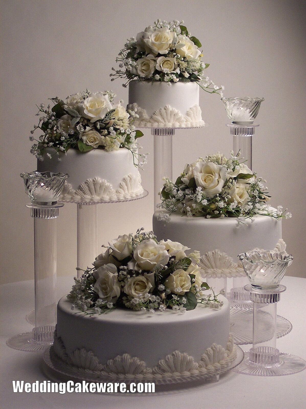 29 fancy Four Tier Wedding Cake Stand – bravofile.com