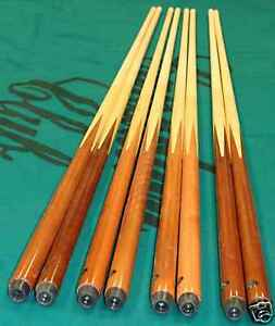 4 new bar pool cue sticks house MAPLE single piece in Sporting Goods, Indoor Games, Billiards | eBay