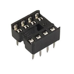 4-x-Sockel-IC-Fassung-8-Pin