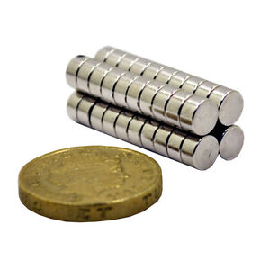 40 Very Strong Neodymium Disc Magnets N52 Grade craft reborn 5mm x 3mm
