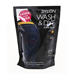 400g-BLUE-JEANS-DENIM-DYLON-MACHINE-WASH-FABRIC-DYE