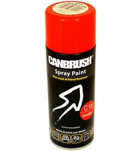 400ml Vermillion Red Spray Paint Auto Diy Interior