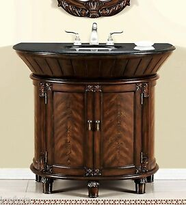 41 Inch Single Sink Bathroom Vanity With Granite Top Item