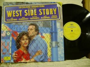 415-253-1-LEONARD-BERNSTEIN-Conducts-West-Side-Story-TE-KANAWA-etc-DG-2LP-STEREO