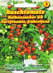 467182 buschtomate balkonzauber tomate saatgut samen. Black Bedroom Furniture Sets. Home Design Ideas