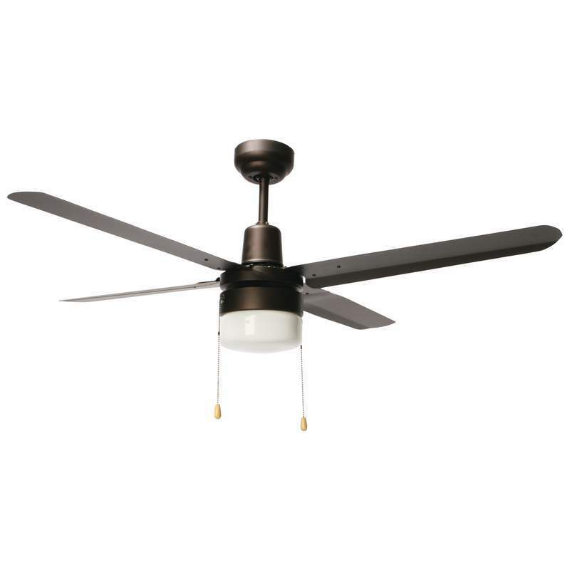 Modern industrial style metal hanging ceiling fan light Industrial style ceiling fans