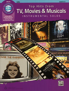 49-Top-Hits-from-TV-Movies-Musicals-Solos-Noten-Play-Along-CD-Violoncello-Cello