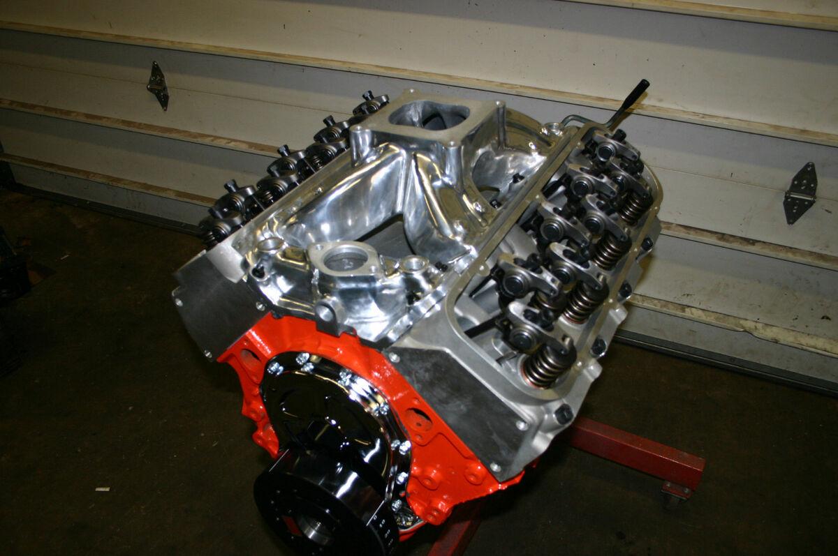 496 600HP Chevy Engine Bigblock Stroker Powerfull 454 502