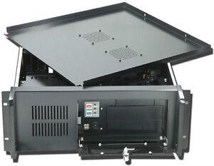 4U-IPC-15-74-Deep-m-ATX-Rack-Mount-Chassis-Music-DVR-w-Lock-Shortest-Case-NEW