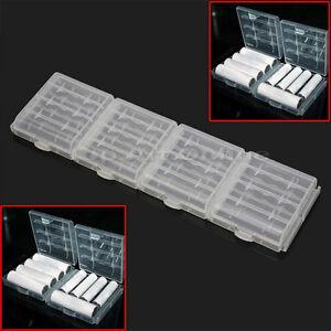 4X-Akkubox-Batteriebox-Aufbewahrungsbox-Schutzbox-f-AA-AAA-Batterie-nicht-inkl