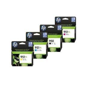 4er-Set-HP-950-951XL-ORIGINAL-8100-8600-PRO-TINTE-PATRONEN-Drucker