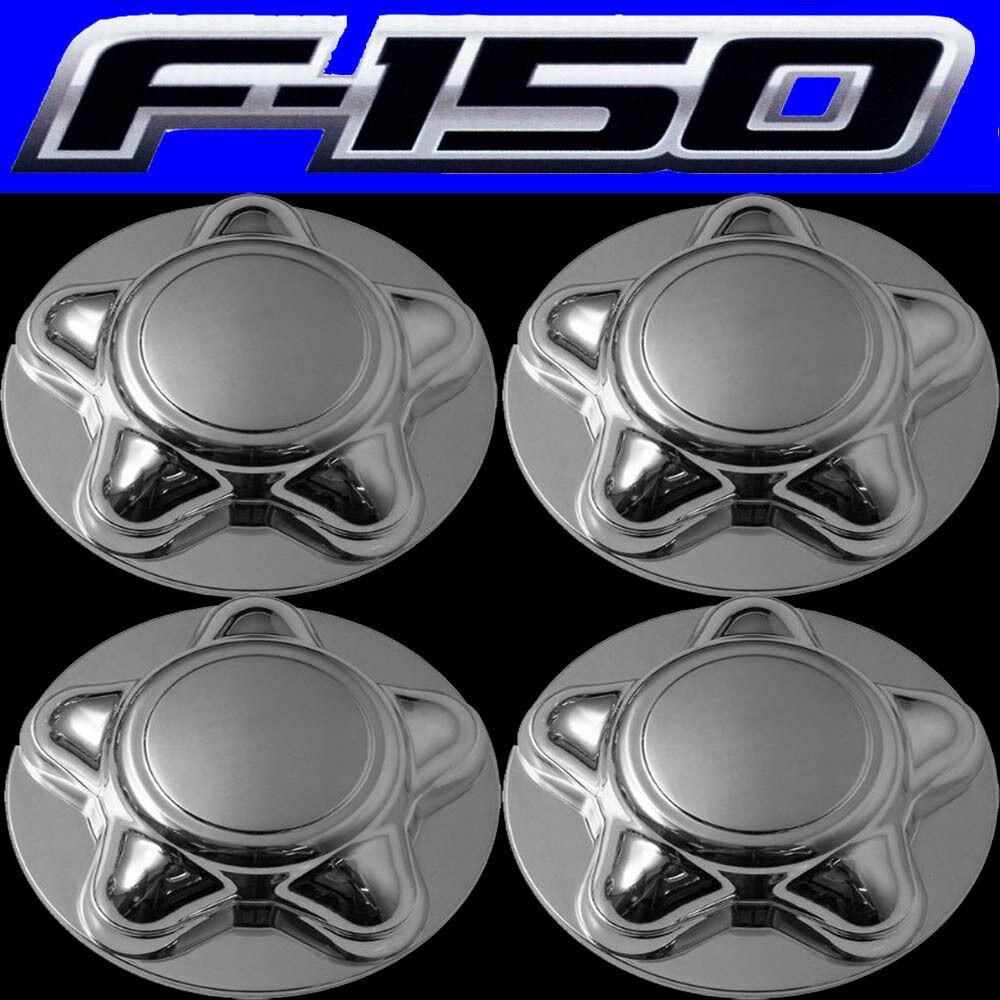 4pc Set Ford F 150 16 Alloy Steel Wheel Rim Chrome Center Cap 7 8