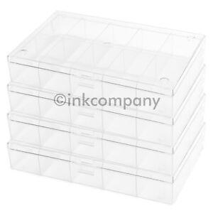 4x-10er-Aufbewahrungsbox-Sortierkasten-NEU-TOP