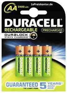 4x-Akku-AA-Mignon-Duracell-Rechargeable-DURALOCK-Stays-Charged-2400-mAh-Blister