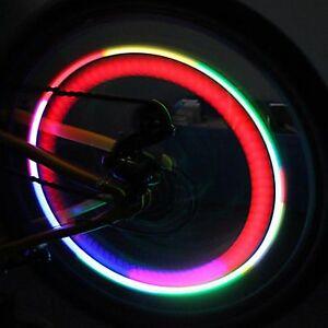 4x led speichenlicht speichenstrahler speichen reflektoren. Black Bedroom Furniture Sets. Home Design Ideas