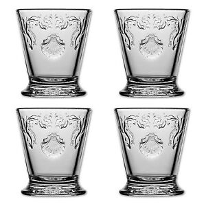 4x la rochere wasser glas versailles aus frankreich 250 ml gl ser becher ebay. Black Bedroom Furniture Sets. Home Design Ideas