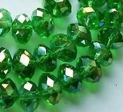 4x6mm Green Multicolor Swarovski Crystal Bead 98pcs in Jewelry & Watches, Loose Beads, Crystal | eBay