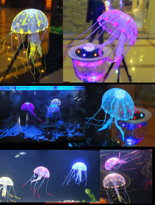 ... Effect Artificial Jellyfish Fish Tank Aquarium Decoration eBay