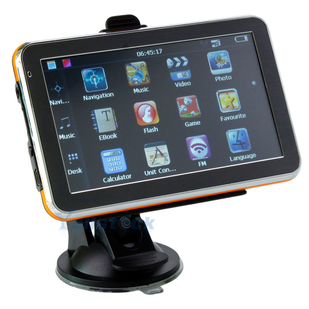 """5"""" 5 inch Auto Car GPS Navigation TFT Touch Screen WinCE 6 0  MP4 New Map HK"""