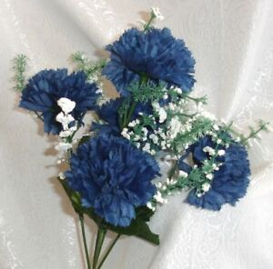 Silk Flower Petals on Navy Blue Marine Silk Wedding Flowers Bouquets Centerpieces   Ebay