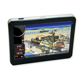 5'' Car SAT NAV GPS navigator 2011newest...