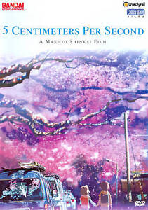 5 Centimeters Per Second (DVD, 2011)